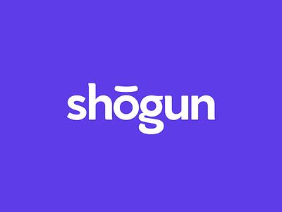 Shogun identity shogun samurai branding logo