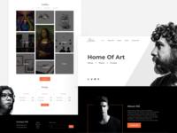 Alaba arts ux artist art portfolio ui @uxdesign @uiux @webdesign @prototyping @uiux design @uidesign @ui @design