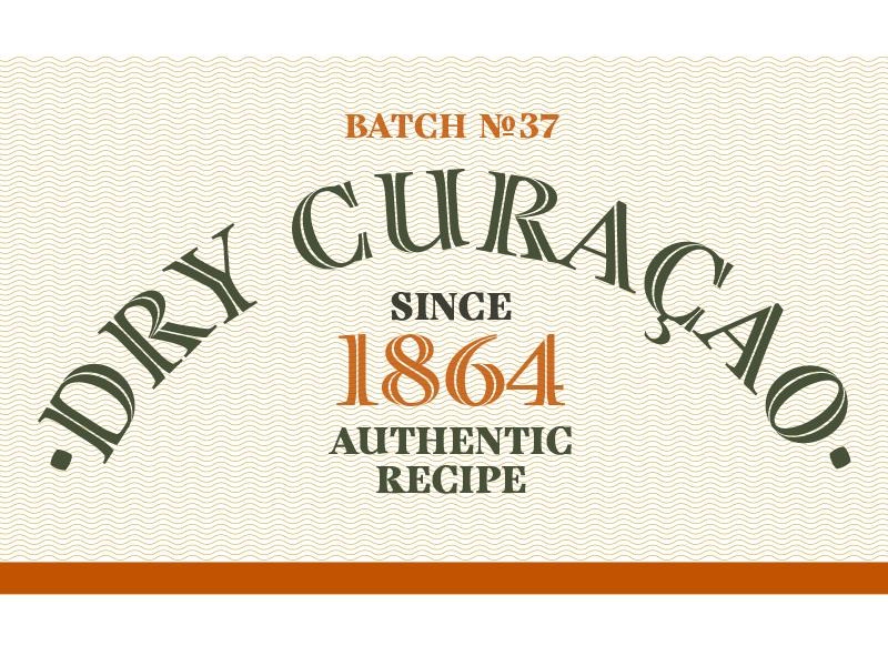 Curacaoshot type typography type design