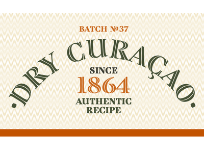 Curacaoshot type typography type design