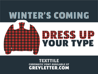 TextTile Winter Sale
