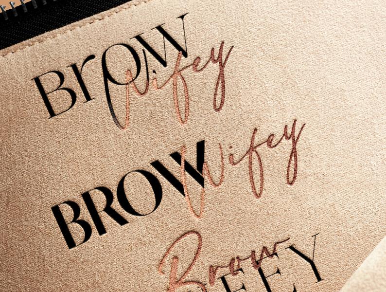 Logo Made For Brow Wifey By - Mrs. Nicole Martinez