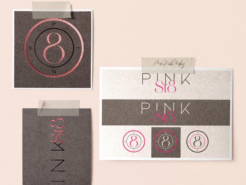 Pink St8 Logo Design - Made By Mrs. Nicole Martinez