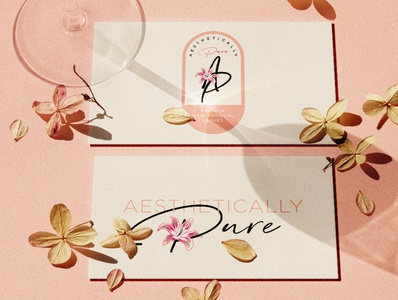 Logo for Aesthetically Pure - By Mrs. Nicole Martinez