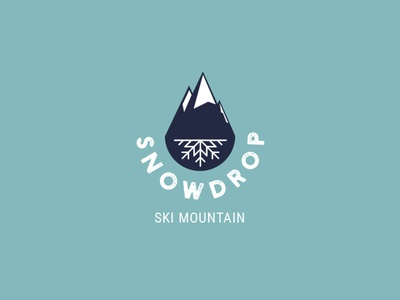 Daily Logo Challange: Ski Mountain