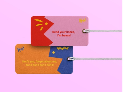 Hola! Luggage Tags