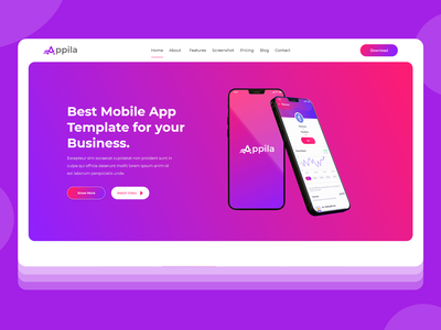Apps Landing page redesign. minimal illustration political champlain design landingpage react web sass app ux