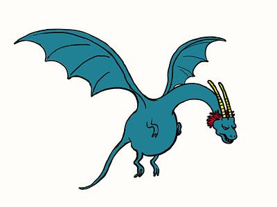 Dragon dragon farben kunst kunstwerk tekening rajz arting dibujo original pintura illustratrice illustree gallery artwork drawing painting illustrator illustration graphic