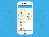 Tam Burada App - Home Page