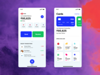 Free UI Kit  for Payment Wallet App