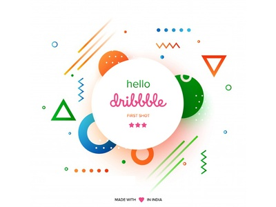 hello dribbble - first shot