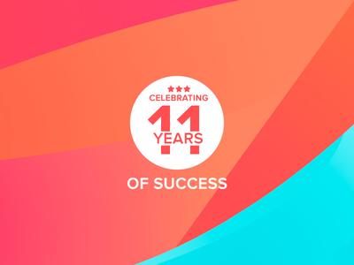 Celebrating 11 years of success