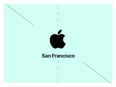 San Francisco font by Apple