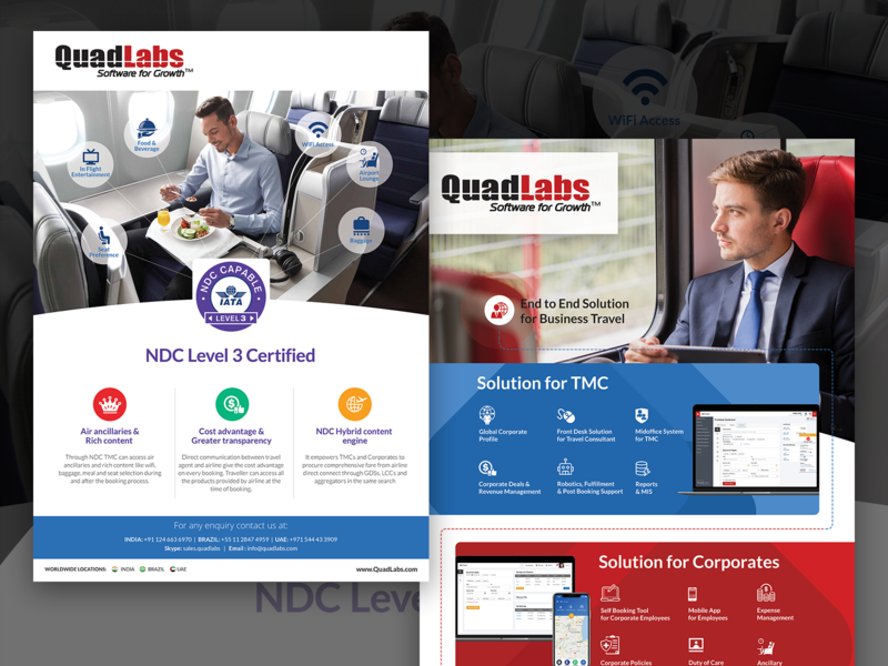 Ads Campaign For QuadLabs by Ravi Joon on Dribbble