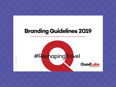 Rebranding Quadlabs - Premier Travel Tech Company