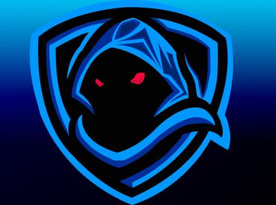 hidden skull face vector logo