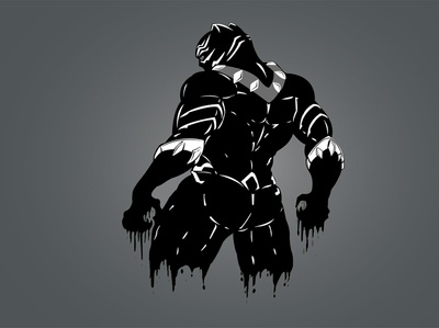 Black Panther vector