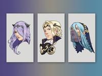 Fire Emblem Character Portraits