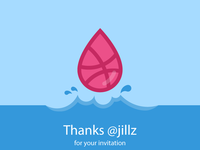 Dribbble droplet