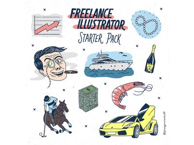 Freelance Illustrator Starter Pack