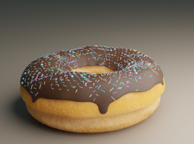 Donut.. Less chocolate and Sprinkles.. :v Learning Things