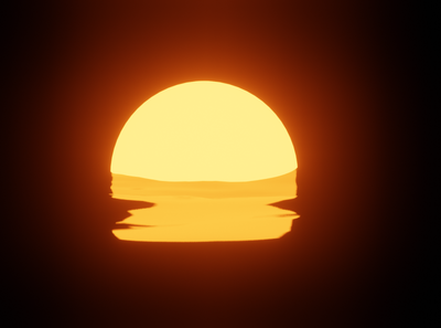 Simple Sunset