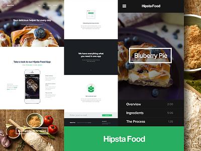 Showcase: Hipsta Food food iphone startup framework ui presentation showcase