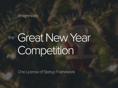 Win a License of Startup Framework