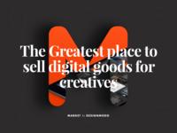 Digital Goods Marketplace for Creatives + Sketch Freebie