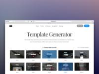 Slides: Generator