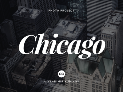 Chicago: Creative Commons Photography backdrop background creative commons cc freebie free photography photo chicago