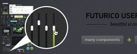 [PSD] Futurico – Free User Interface Elements Pack