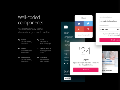 New Slides v3: Well-coded components