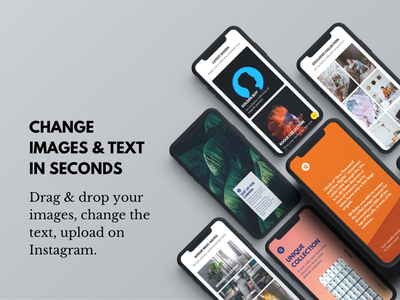 Rogue — Instagram Story Template stories instagram instagram story template branding social media social media pack ecommerce sale discount psd sketch marketing