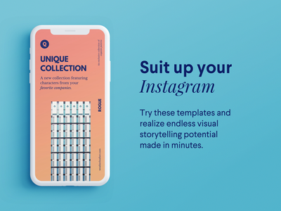 Rogue — Instagram Story Template marketing sketch psd discount sale ecommerce social media pack social media branding instagram story template instagram stories