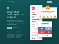 Little Widgets — HTML Website Widgets & Popups