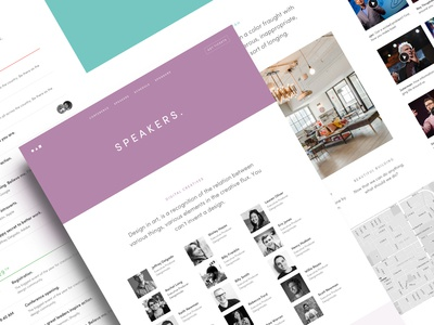 Website Template for Conference, Event, Meetup