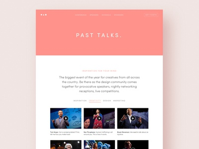 Circles: Website Template for Conference website design meetup event conference html template website template