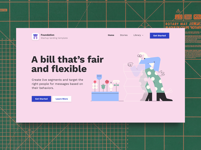 Foundation: Startup Landing Page Bootstrap Website Template startup landing page bootstrap theme bootstrap template business website template website theme html css startup website template website template website mockup startup design