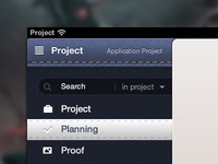 Project management application