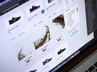 The Bricks - E-commerce Screen