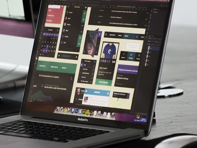 Square UI Kit Free - Download Now! free kit freebie flat psd square ui ui kit ux menu colors palette player graph app table editbox calendar