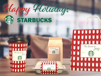 Starbucks Holiday Design
