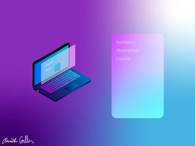 Gradient Laptop