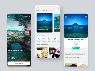 Travel Planning App Concept mobile app ux ios travel plan mobile interface travel blog traveling travel app ui travel design