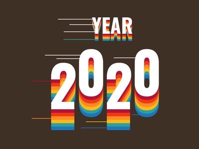 Typography 2020- retro