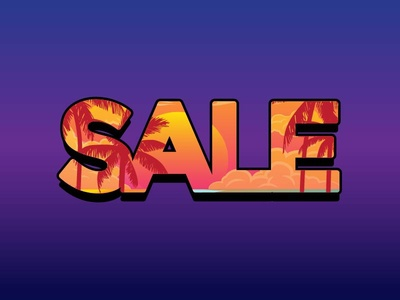 Tyography Sale