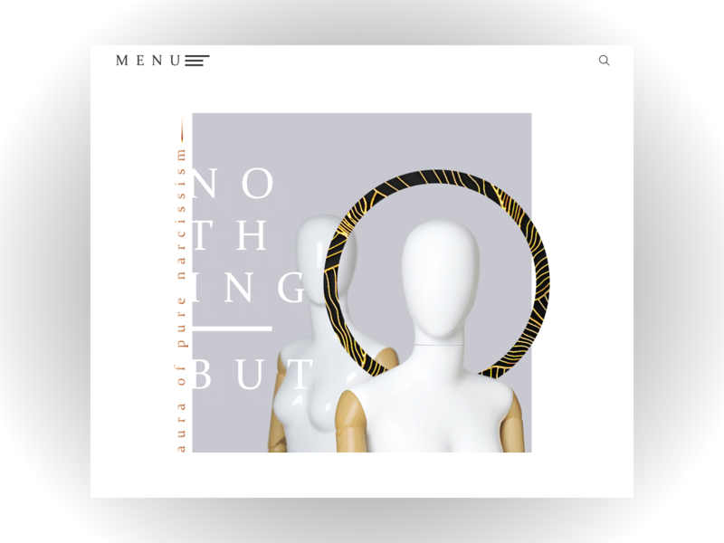 ARTEFACT jewelry I Web Design Concept pedant fashion nimbus circle lines the jewels gold bracelet earrings necklace jewelry minimalism website web design minimal web mannequin manikin design