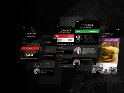 Burger Trends Mobile Mockup