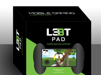 L33tPad Mobile Gaming Packaging
